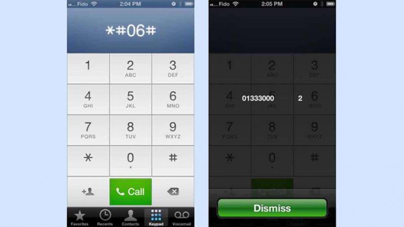 cara cek imei iphone dengan kode