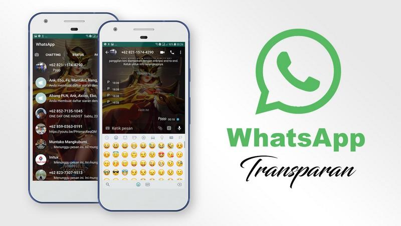 cara mengubah tema whatsapp