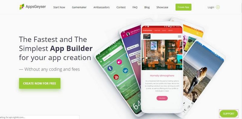 website pembuat aplikasi android
