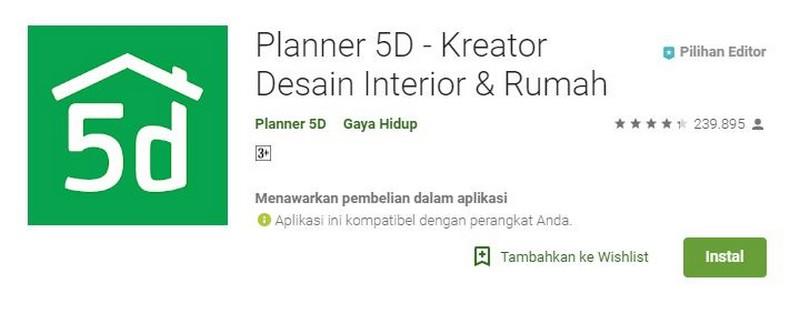 aplikasi untuk membuat rumah