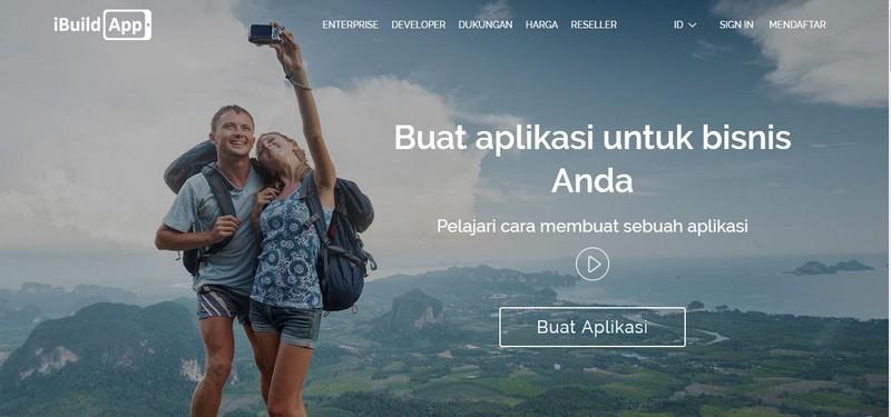 web untuk membuat aplikasi