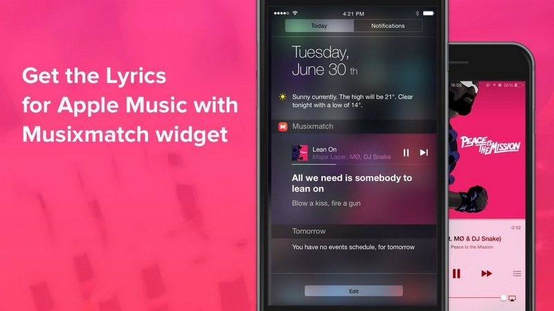 aplikasi Musixmatch Lyrics