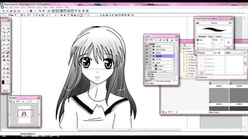 aplikasi manga studio