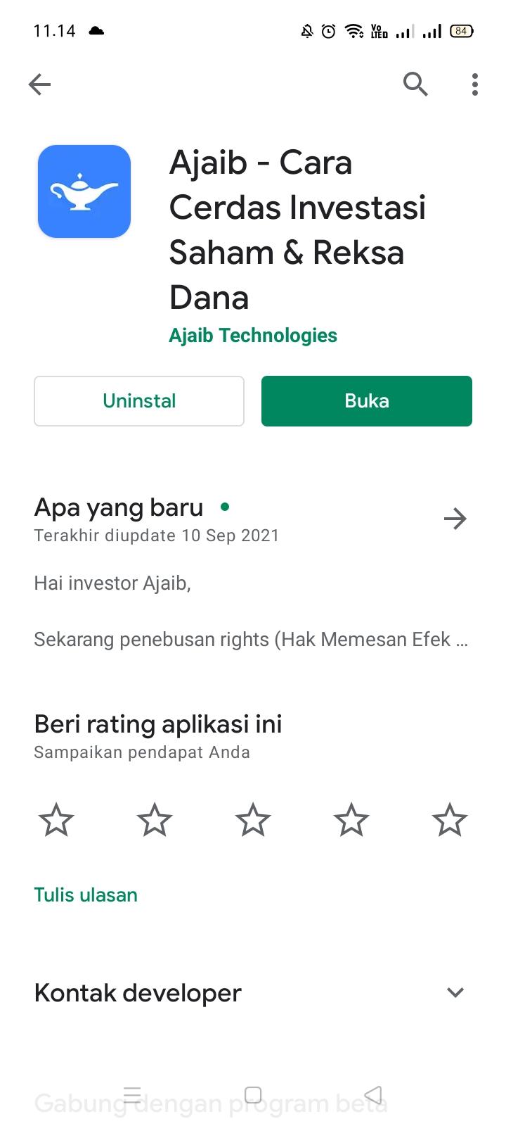 Aplikasi trading saham ajaib